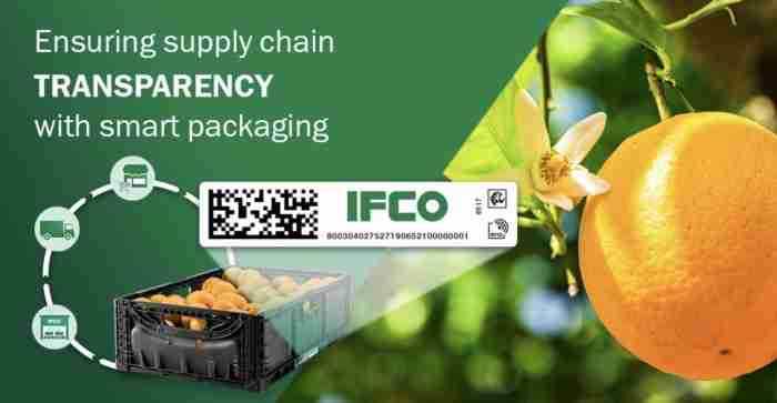 IFCO IoT tracking