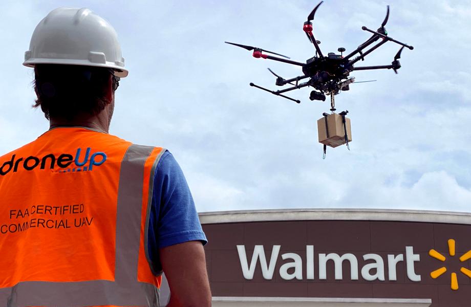 Walmart DroneUp