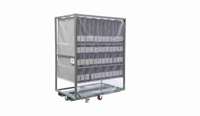 Optimized ORBIS metal rack